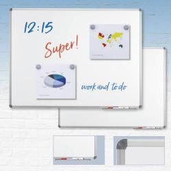 Wit magneetbord business