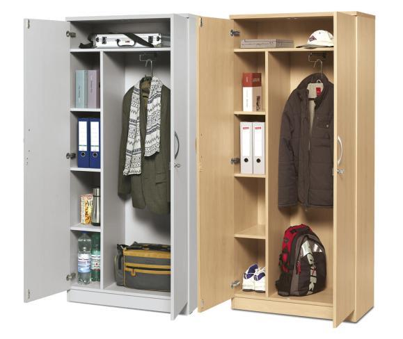 Draaideurkasten met garderobe MULTI M